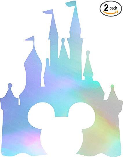 Amazon.com: NBFU DECALS Cinderella Castle Clipart (Hologram.