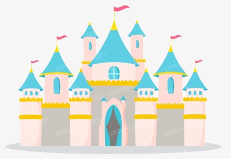 Free Castle Clip Art with No Background.