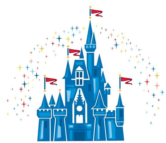 Free download Walt Disney Castle Clipart for your creation.
