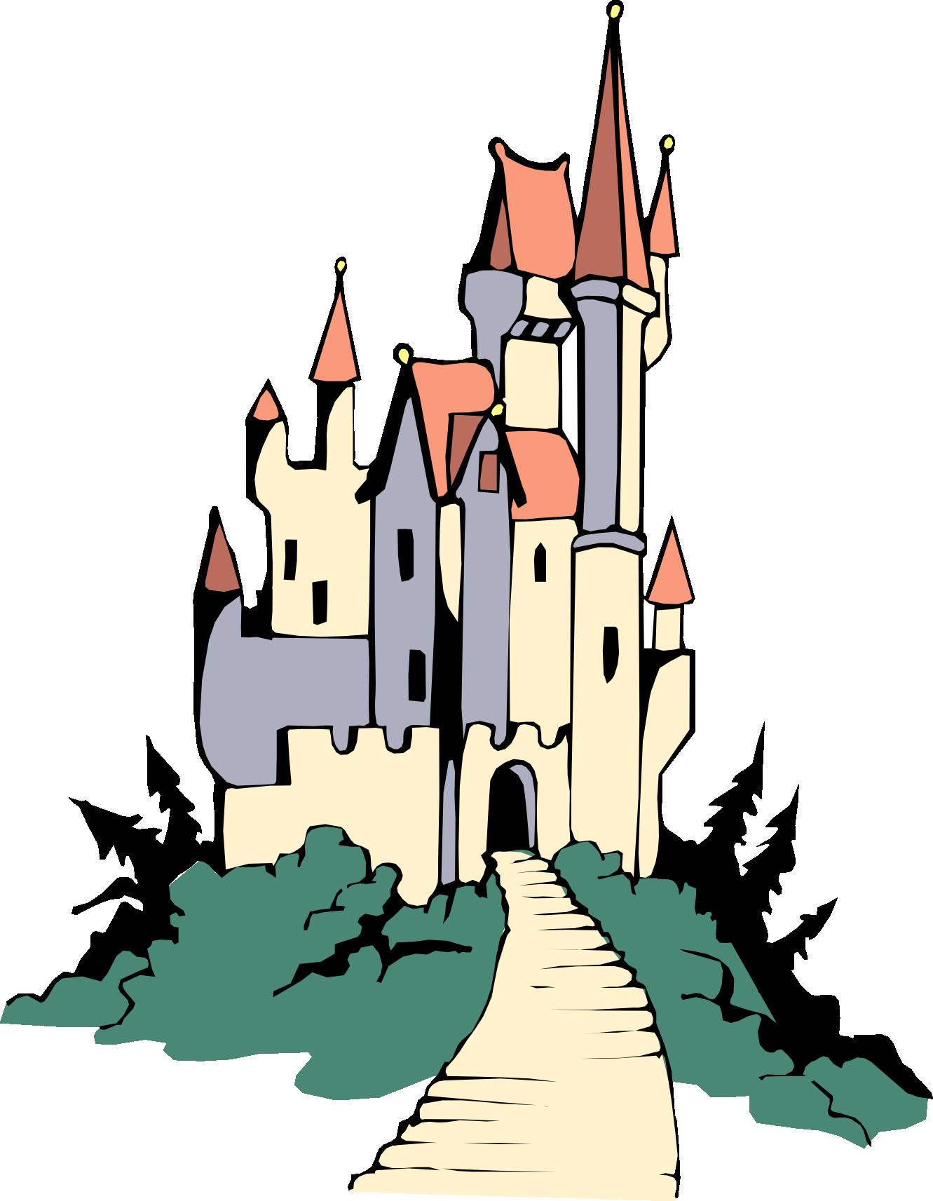 Castle Clipart Image.