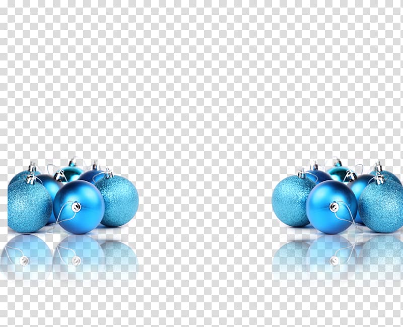 Blue Christmas tree Christmas ornament, Blue Christmas ball.