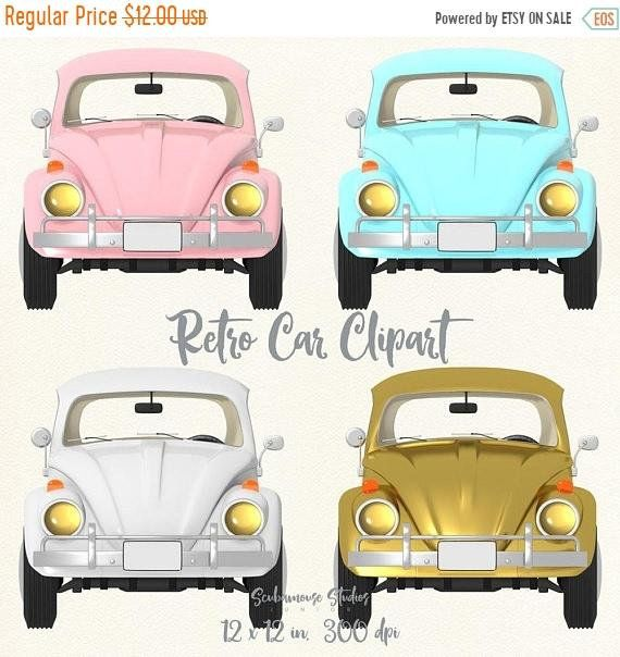 THRU 4/13 ONLY wedding clipart, gold clipart, gold car.