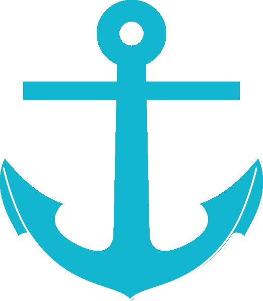 Anchor clipart aqua, Anchor aqua Transparent FREE for.