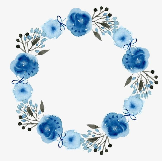 Wreath PNG, Clipart, Flowers, Watercolor, Wreath, Wreath.