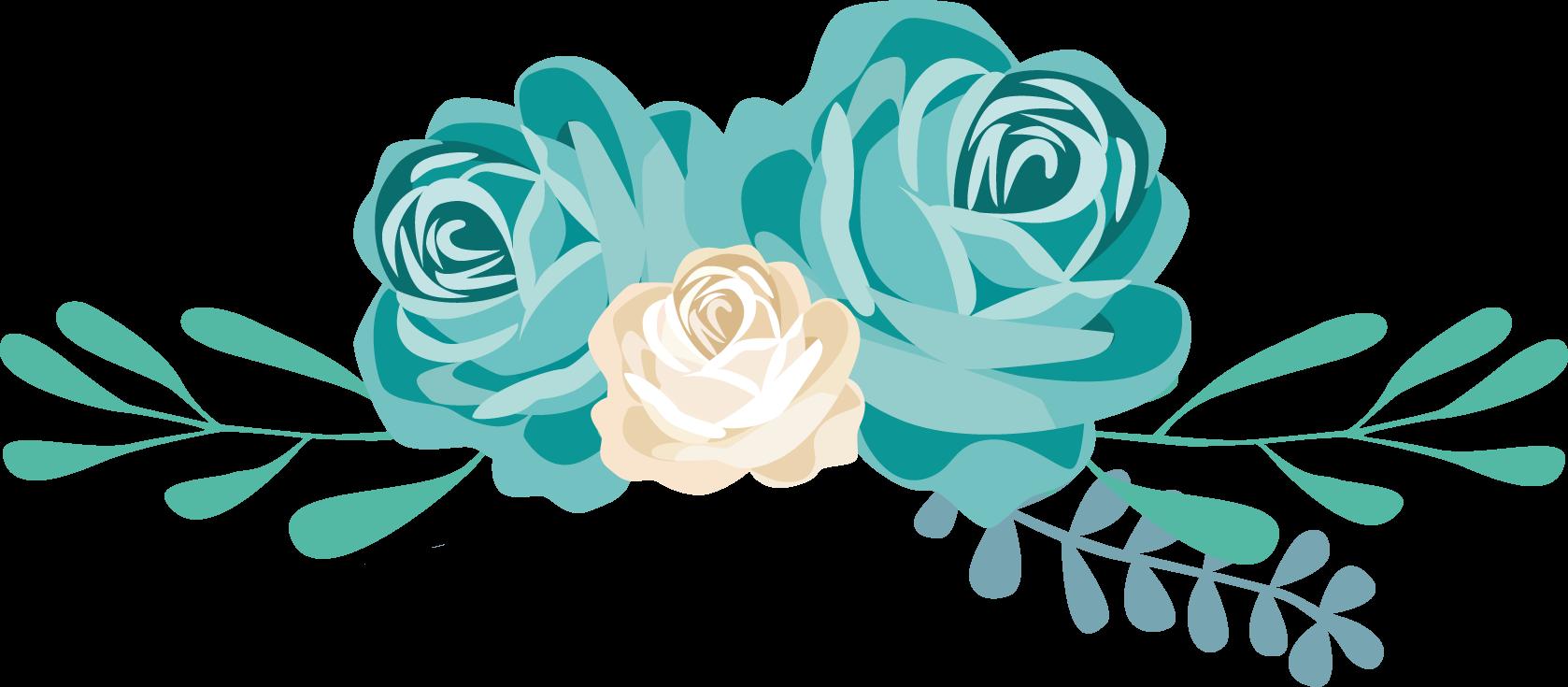 Flower Blue Clip art.