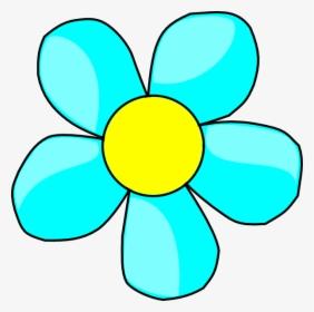 Aqua Flower Clipart, HD Png Download , Transparent Png Image.