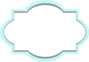 Blue And Grey Frame Clip Art.