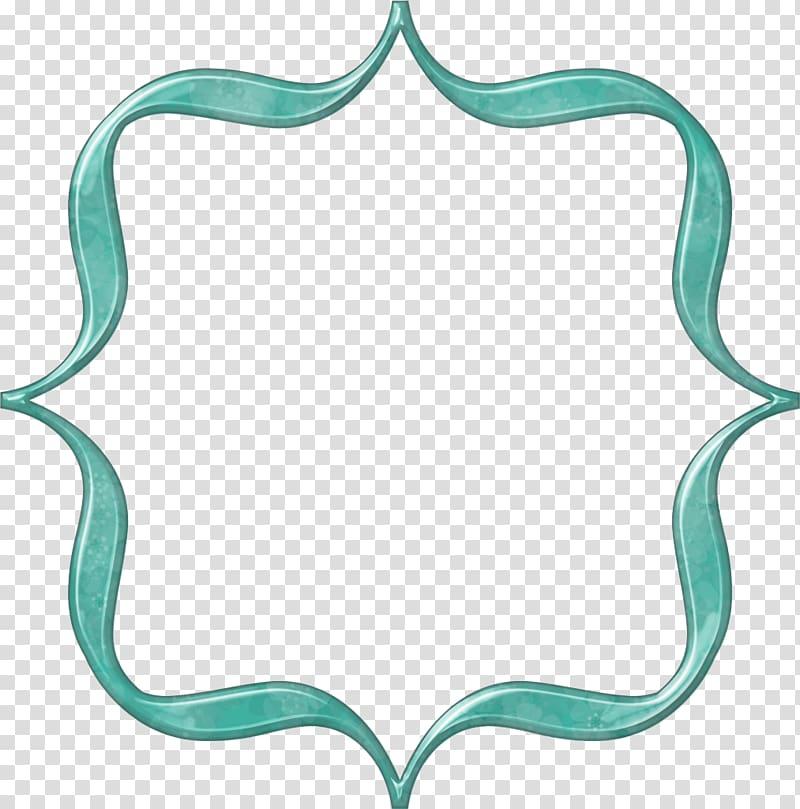 Frames Bracket Turquoise Aqua , bracket transparent.