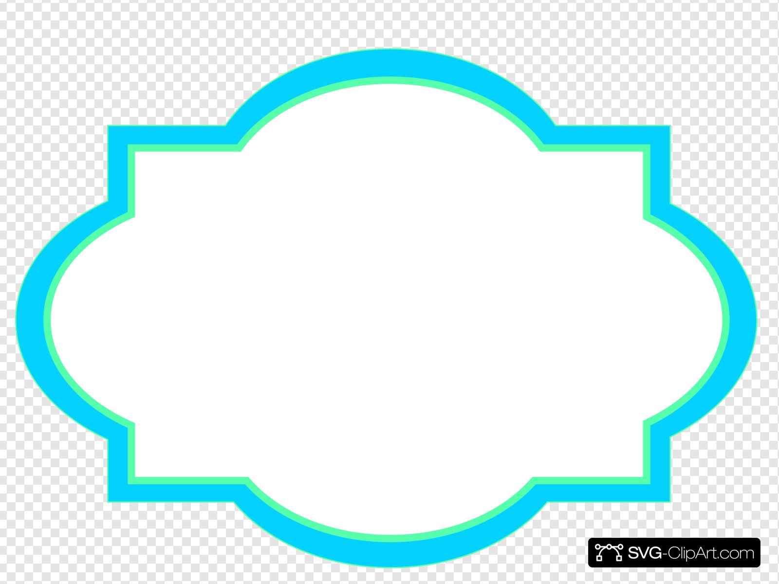 Decorative Invite Frame Clip art, Icon and SVG.