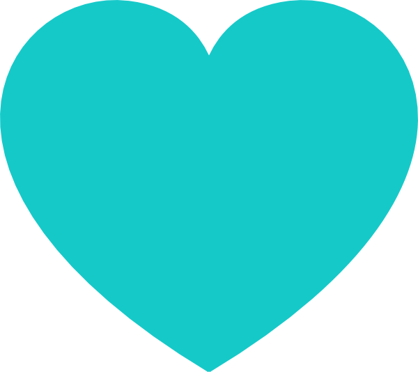 Free Teal Heart Cliparts, Download Free Clip Art, Free Clip.