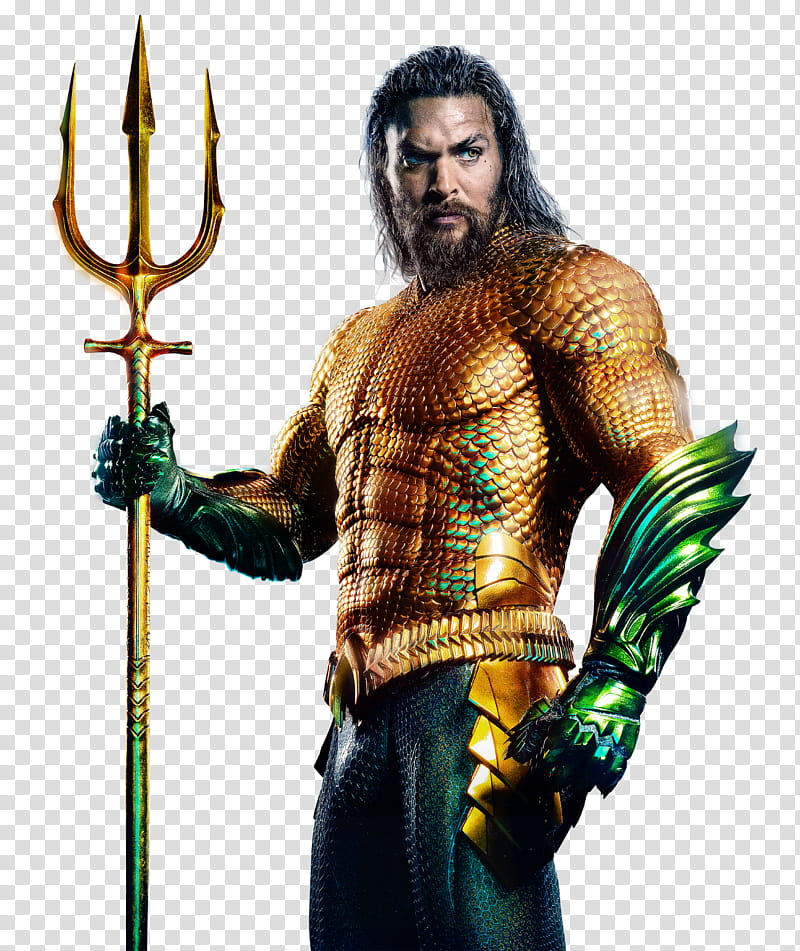 Aquaman , Jason Momoa Aquaman transparent background PNG.