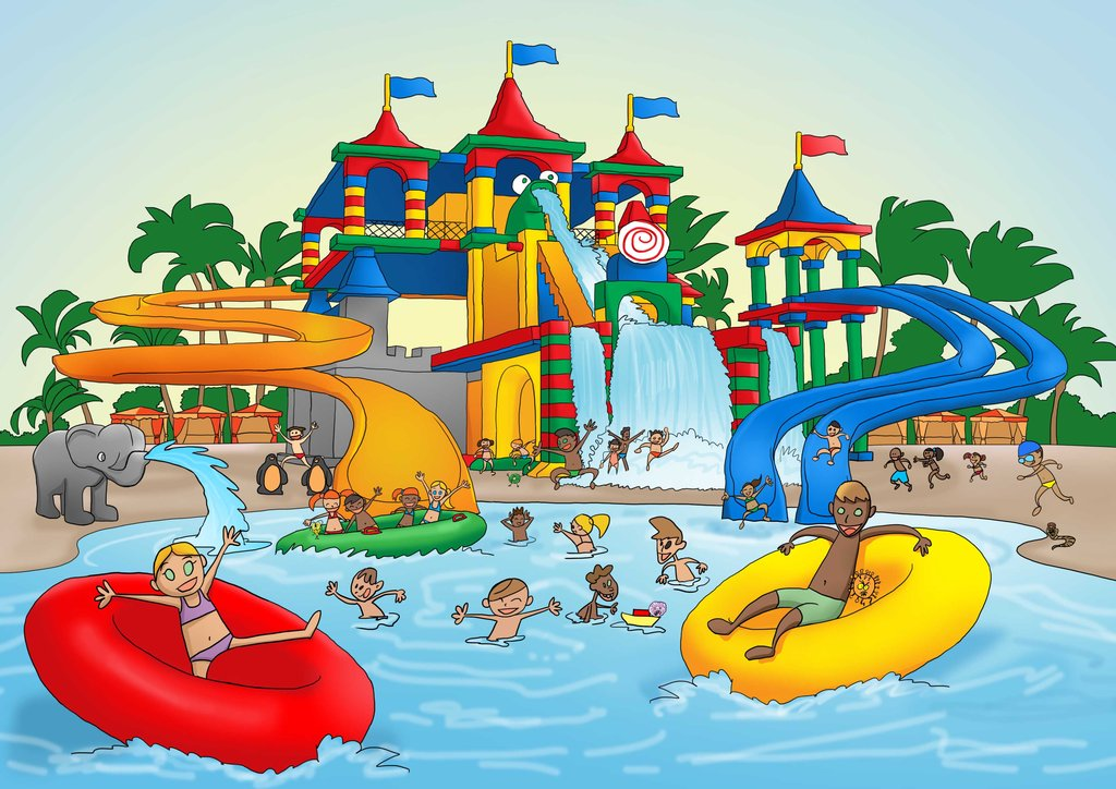 Water Park Clipart.