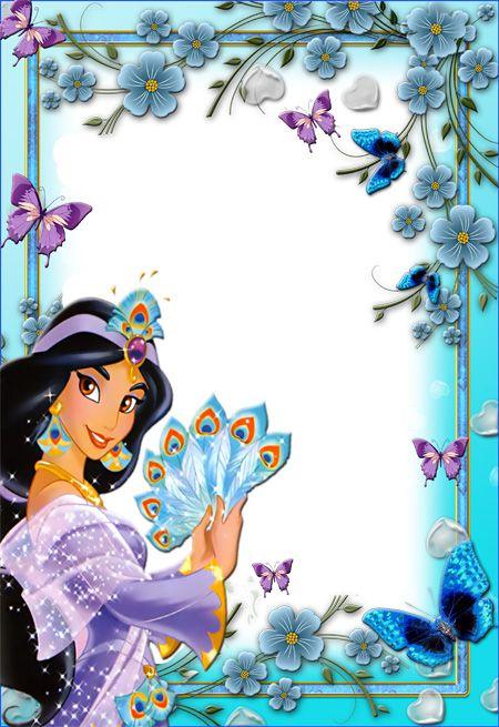 Aqua princess frames clipart clipart images gallery for free.