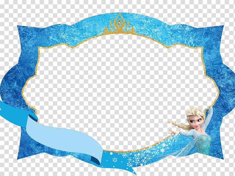 Frozen border, Elsa Olaf Anna Frames, elsa transparent.
