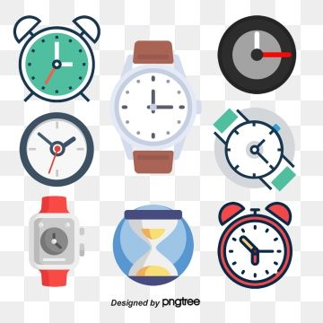 Square Clock, Square Vector, Clock Vector, Pointer PNG and.