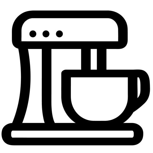 stand mixer vector eps.