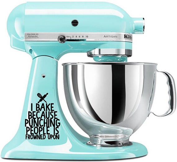KitchenAid Mixer Decals: Decorate Your Stand Mixer.
