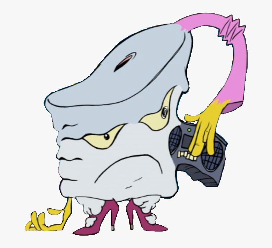 Mister Shake Aqua Teen Hunger Force.