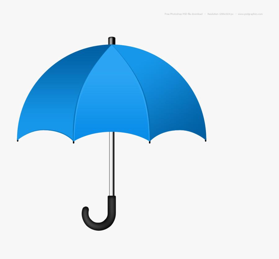Blue Umbrella Png.