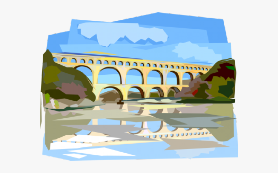 Aqueduct Clipart Transparent.