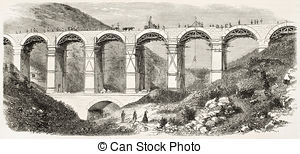 Aqueduct Illustrations and Clip Art. 277 Aqueduct royalty free.