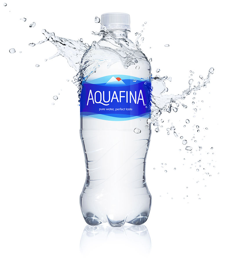 Brand New: New Logo and Packaging for Aquafina done In.