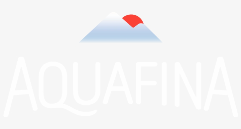 Logo Aquafina.