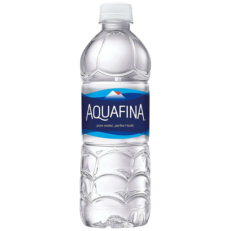 Aquafina water bottle review.