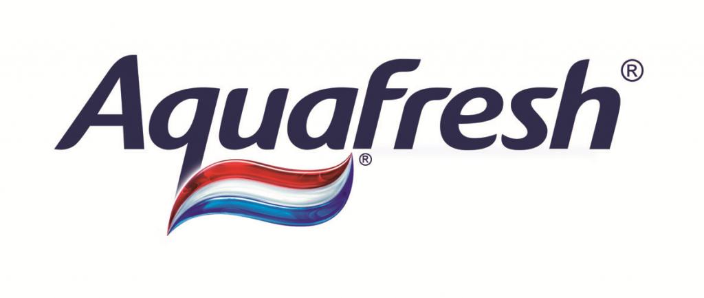 Aquafresh Toothpaste Logo.