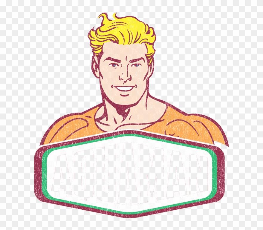Dc Comics Aquaman Sign Women's T.
