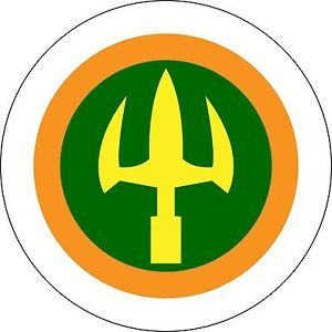 aquaman superhero logo.