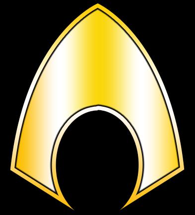 Aqua man logo.