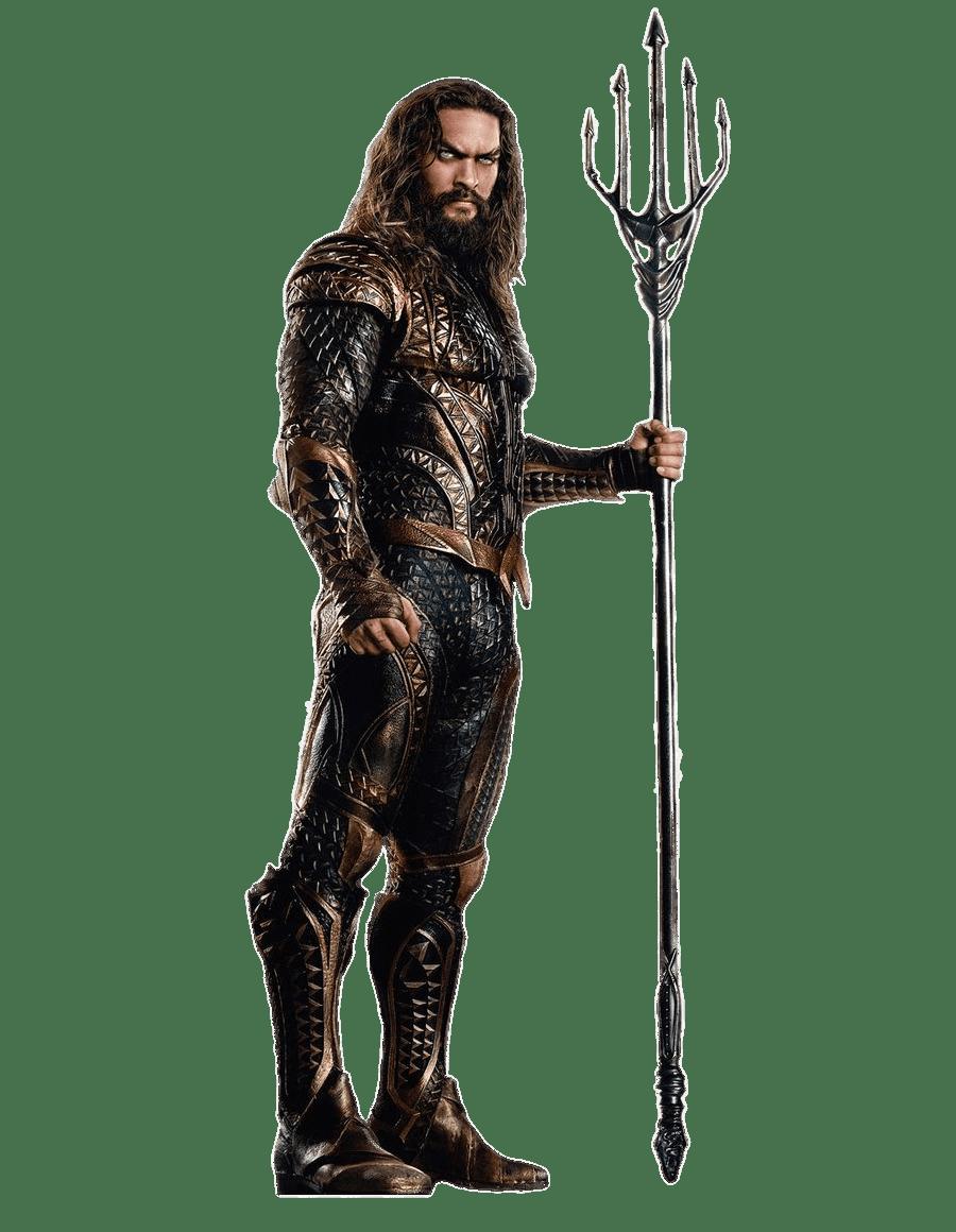 Jason Momoa As Aquaman transparent PNG.
