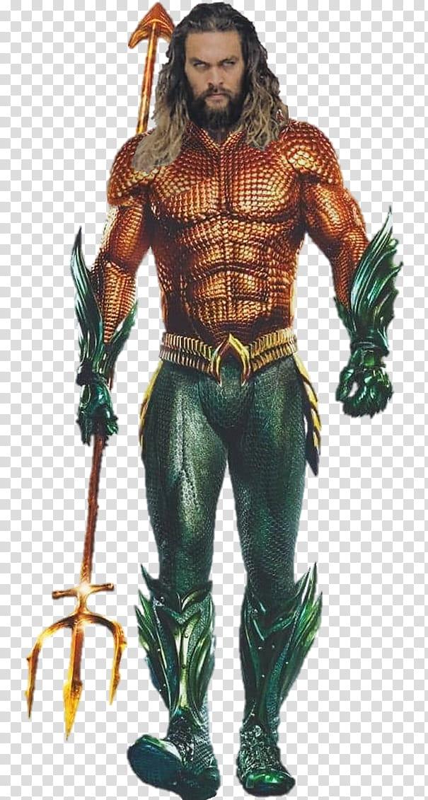 Aquaman Background, Aquaman holding trident transparent.