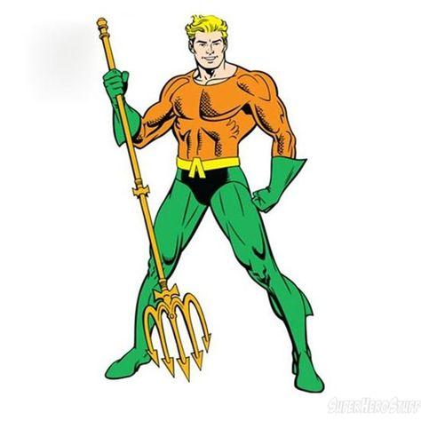 Aquaman Symbol Clipart.