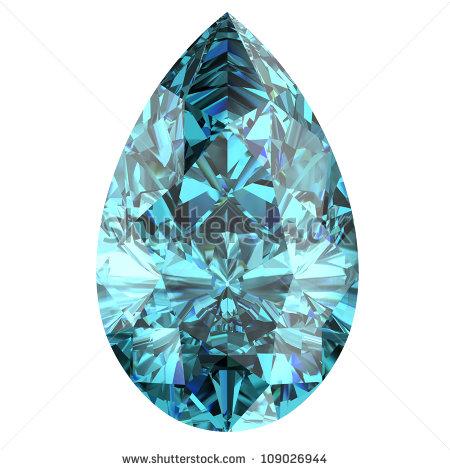 Aquamarine Gemstone Stock Photos, Royalty.