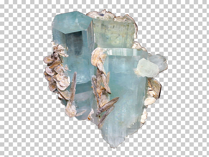 Gemstone Crystal Mineral Aquamarine Color, gemstone PNG.