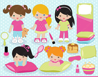 Slumber party images clipart images gallery for free.