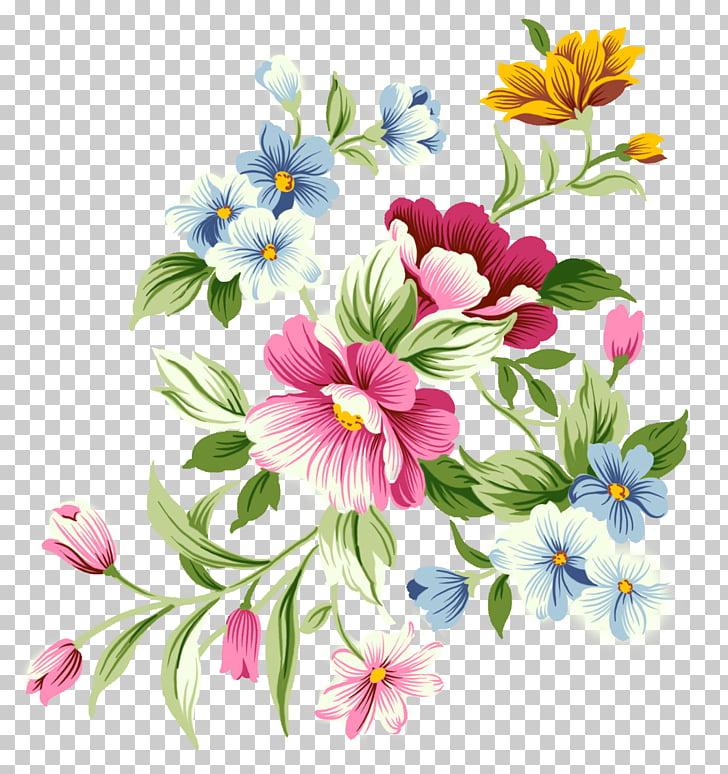 Flower , aquarela PNG clipart.