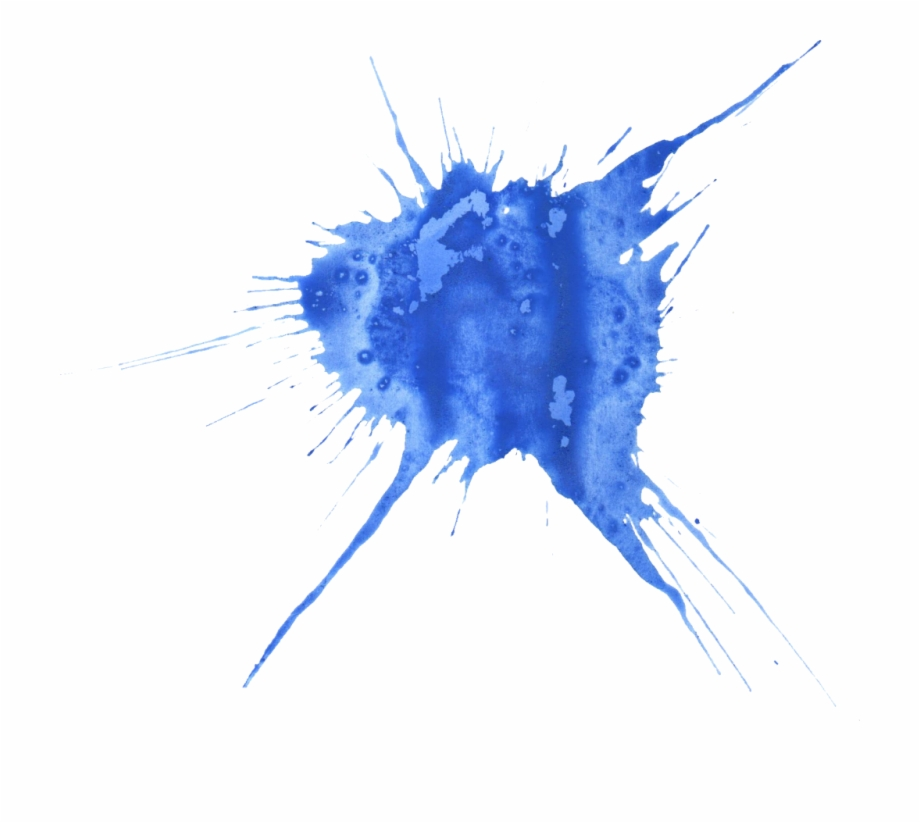 Blue Watercolor Splatter 18 1024×872.