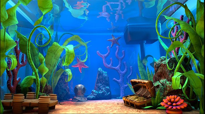 fish tank backgrounds to print.
