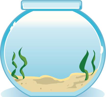 Empty Fish Tank Clipart.