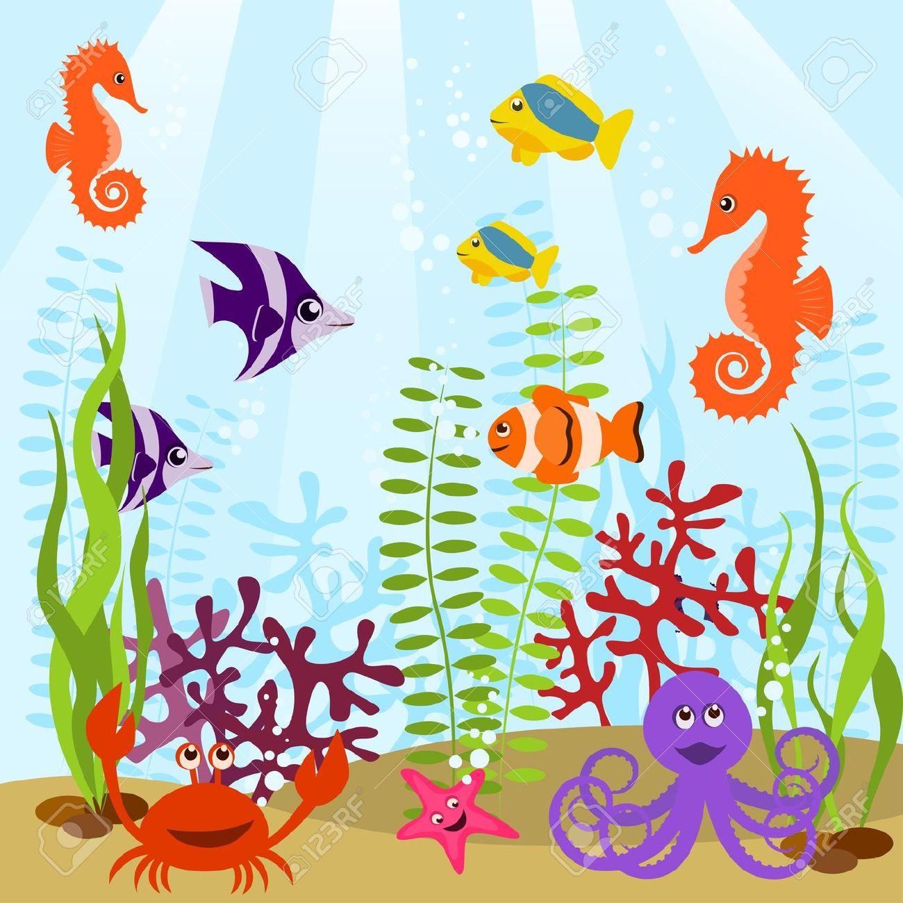 Aquarium fish clipart hd.