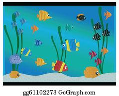 Fish Tank Clip Art.