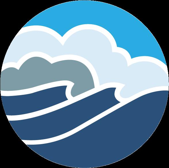 Oregon Coast Aquarium Logo Clipart.