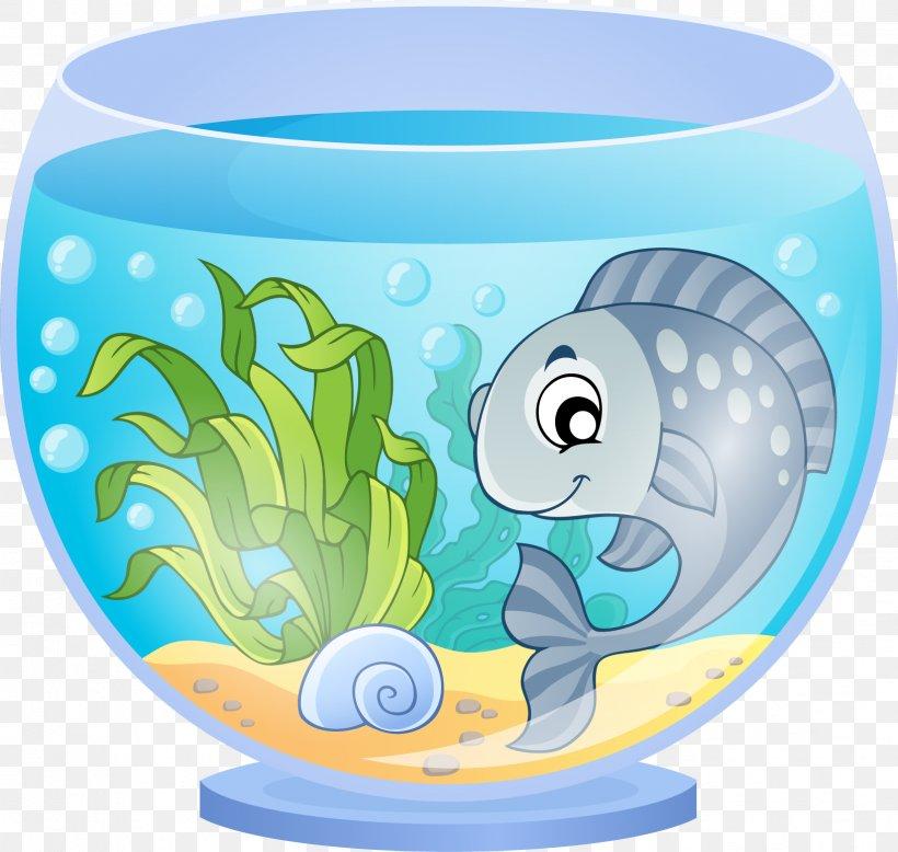 Aquarium Cartoon Goldfish, PNG, 1632x1549px, Aquarium.