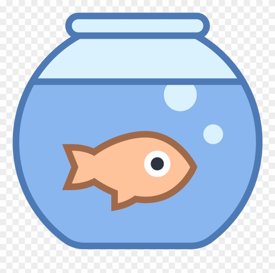 Fish Tank Clipart School Project.