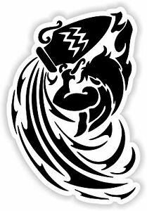 Details about Aquarius Star Sign Zodiac Symbol Sticker Helmet Bumper Door  Fridge Laptop #01.