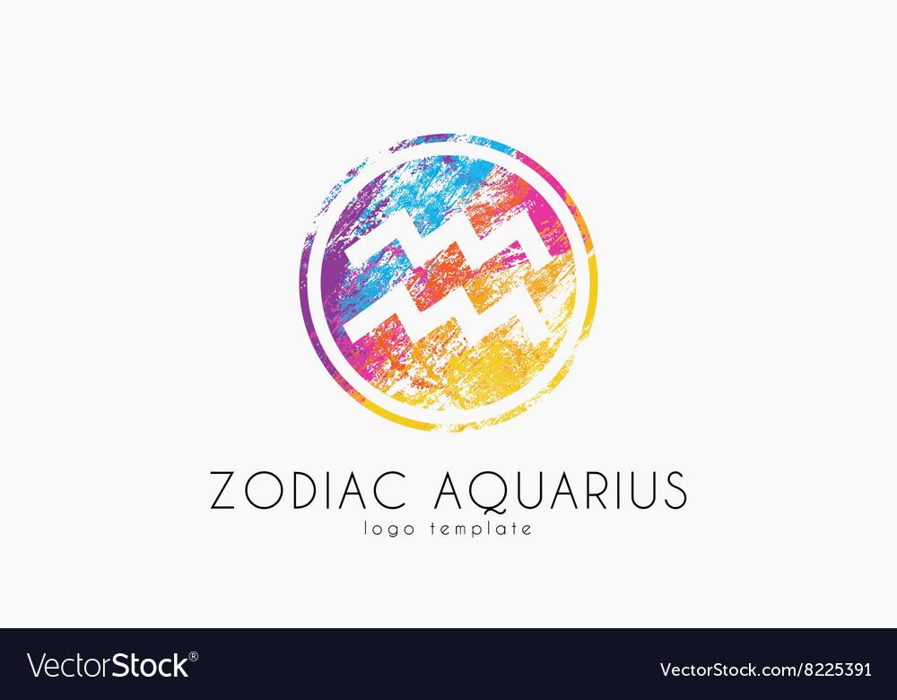 Horoscope symbol Zodiac aquarius logo Zodiac.