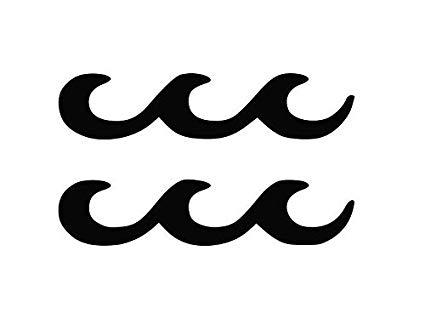 Amazon.com: TiuKiu Aquarius Logo Astrology Zodiac Birth Sign.